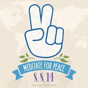 Méditation globale pour la paix 8.8.14